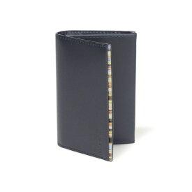 ポールスミス カードケース メンズ ブランド Paul Smith カードケース 収納 名刺入れ メンズ ランキング 革 レザー ネイビー 新品 未使用