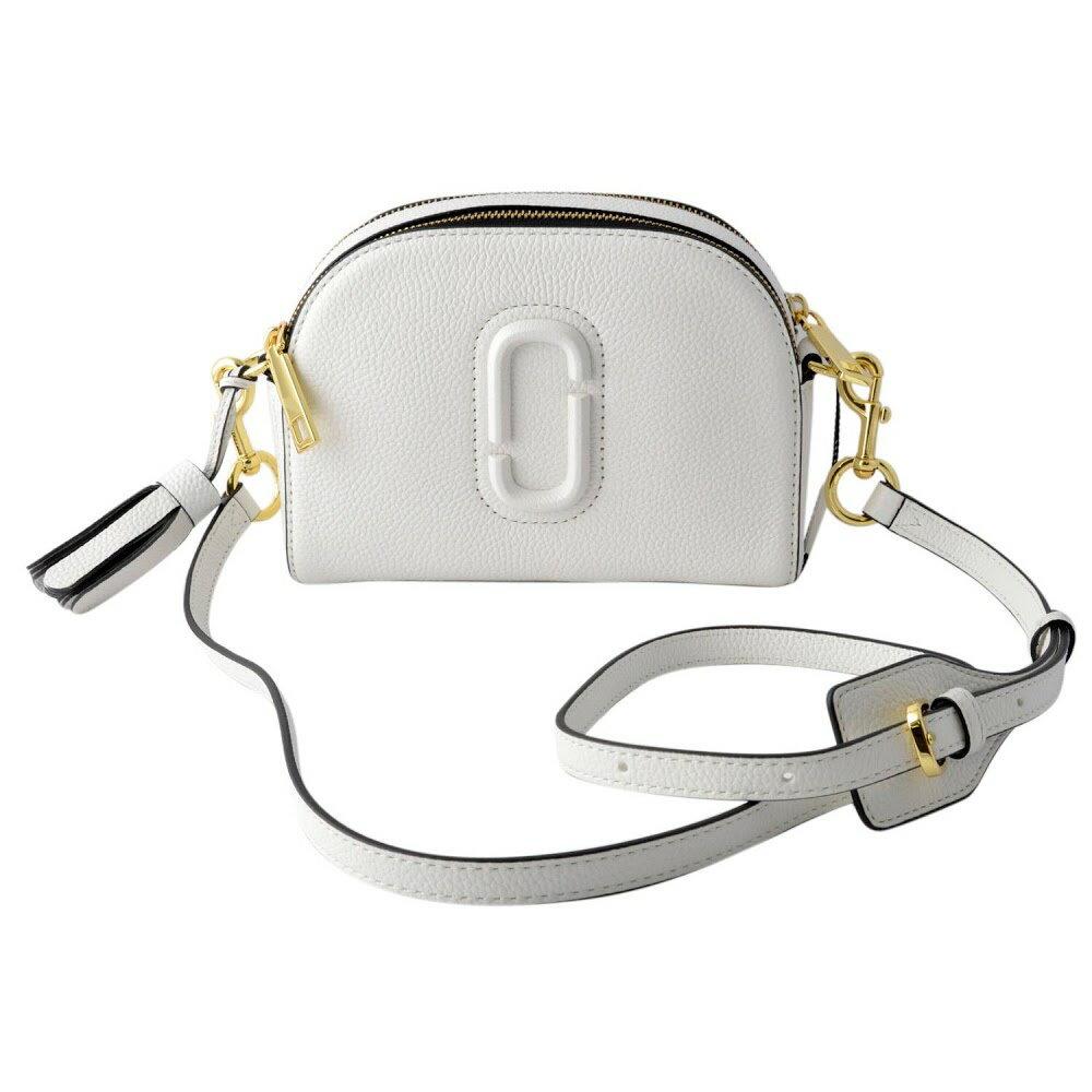 マークジェイコブス Marc Jacobs バッグ ショルダーバッグ 斜め掛けバッグ M0009474-278 shutter small camera bag ダブルJロゴ&タッセルチャーム シャッター スモール カメラ バッグ Porcelain ホワイト