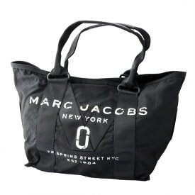 マークジェイコブス MARC JACOBS M0011222-001 ミリタリーロゴプリント トートバッグ スモール New Logo Tote Small Black ブラック