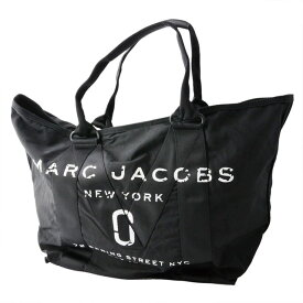マークジェイコブス MARC JACOBS M0011223-001 ミリタリーロゴプリント トートバッグ 肩掛け New Logo Tote Black ブラック