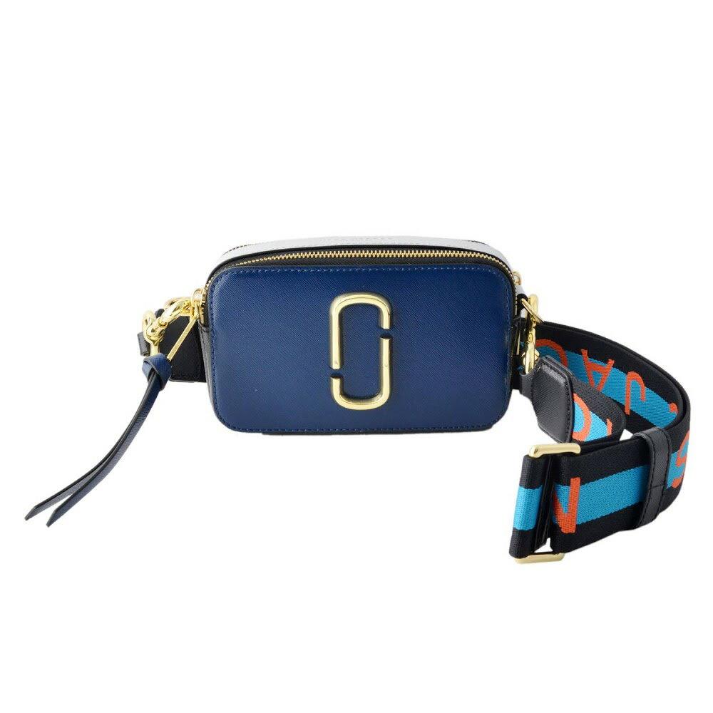 マークジェイコブス Marc Jacobs バッグ ショルダーバッグ クラッチ M0014146-455 Snapshot ダブルJロゴ スナップショット カラーブロック Blue Sea Multi ブルー系マルチ
