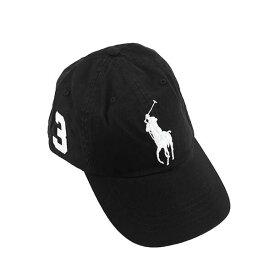 ラルフローレン Ralph Lauren ポロラルフローレン Polo Ralph Lauren キャップ 帽子 BIG PONY CHNO CAP ビックポニー チノキャップ ベースボールキャップ 710673584 015 メンズ レディース RL BLACK ブラック