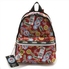 レスポートサック LeSportsac バックパック リュックサック Basic Backpack ベーシック バックパック MARIO TRAVEL スーパーマリオブラザーズ 任天堂 Nintendoコラボレーション 7812 G356