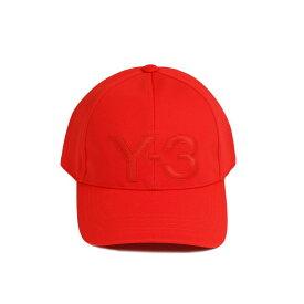 ワイスリー Y-3 キャップ 帽子 つば メンズ レディース DY9344 LOGO CAP ロゴ キャップ RED レッド