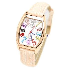 pierre talamon ピエールタラモン 腕時計 pt-8500l-2 キュービックジルコニア トノー型 レディースウォッチ 女性 ピンク 送料無料