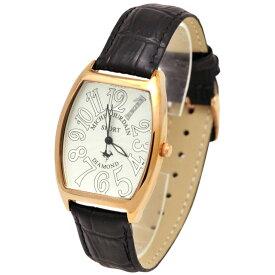 ミッシェルジョルダンスポーツ michel Jurdain SPORT 腕時計 天然ダイヤモンド入り トノー型 メンズ ウォッチ ブラック 送料無料