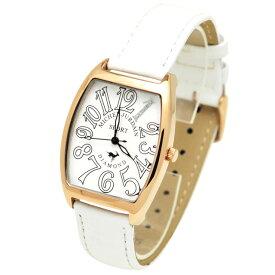 ミッシェルジョルダンスポーツ michel Jurdain SPORT 腕時計 天然ダイヤモンド入り トノー型 メンズ ウォッチ ホワイト 送料無料