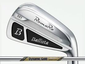 RomaRo (ロマロ) Ballista 501 アイアン 5-Pw Dynamic Gold EX TOUR ISSUEシャフト