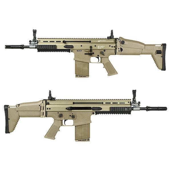 【限定】CyberGun/VFC FN SCAR-H GBB ガスブローバック (MK17マーキング/JPver./FNライセンス) デザートカラー【マガジン2本付き】