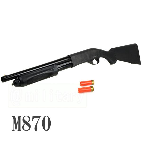 PPS M870 ポンプアクション ガスショットガン ショートバレル [JPバージョン] カートシェル2個付き