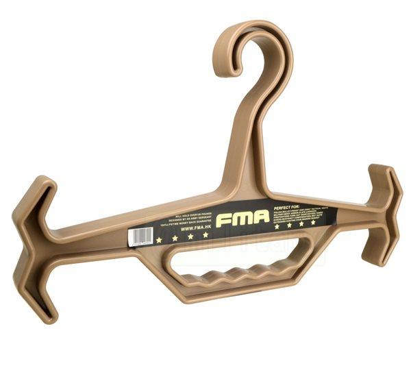 FMA製 ミルスペック ハンガー デザートカラー