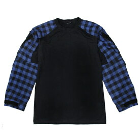 TMC Gen3 コンバットシャツ バッファローチェック柄 ブルー サバゲー,サバイバルゲーム,ミリタリー