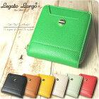 財布レディース二つ折り財布/財布レガートラルゴ折財布/レガートラルゴLegatoLargoボンディンググレインフェイクレザーの二つ折り財布