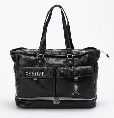 SHERIFF シェリフ ゴルフ ゴルフ トートバッグ スカルシリーズ SFS-005 Black BB136