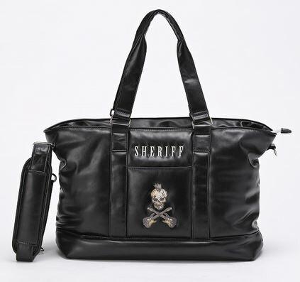 SHERIFF シェリフ ゴルフ ゴルフ ボストンバッグ スカルシリーズ SFS-005 Black BB137