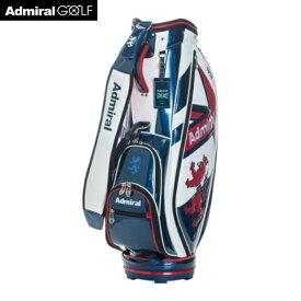 ADMIRAL アドミラル ゴルフ カートキャディバッグ スマートスポーツ ADMG1AC5 9.0型 46インチ対応 口枠5分割 3.9kg トリコロール