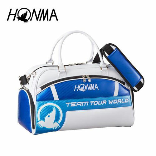 ゴルフ メンズ ボストンバッグ 本間ゴルフ HONMA ホンマゴルフプロモデル ボストンバッグ BB-1803 ブルー