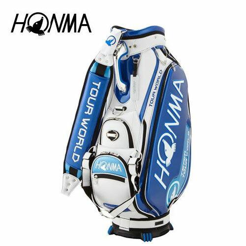 ゴルフ メンズ キャディバッグ 本間ゴルフ HONMA ホンマゴルフ 2018年トーナメントプロモデルキャディバッグ CB-1801 ブルー 青 9型