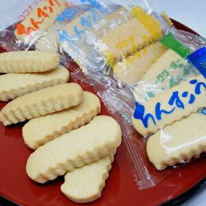 メール便送料無料 リニューアルIIちんすこう 24個(12袋)6種類(プレーン、黒糖、塩、ココナッツ、バナナ、シークヮサー)【小黒糖付き】