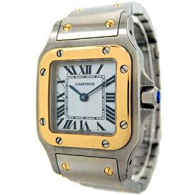 カルティエ Cartier W20103C3 Qz 時計 レディースドレスウォッチ サントスガルベSM 中古 グレード:A サンヤ質店