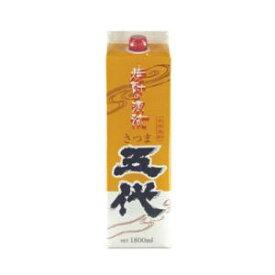 薩摩芋焼酎 山元酒造 さつま五代 白麹仕込み 1800mlパック