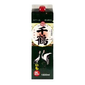薩摩芋焼酎 神酒造 千鶴 25度 1800mlパック
