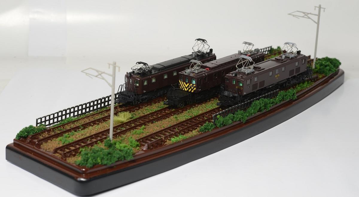 Nゲージ鉄道模型用展示台ケース付きC●注文製作●