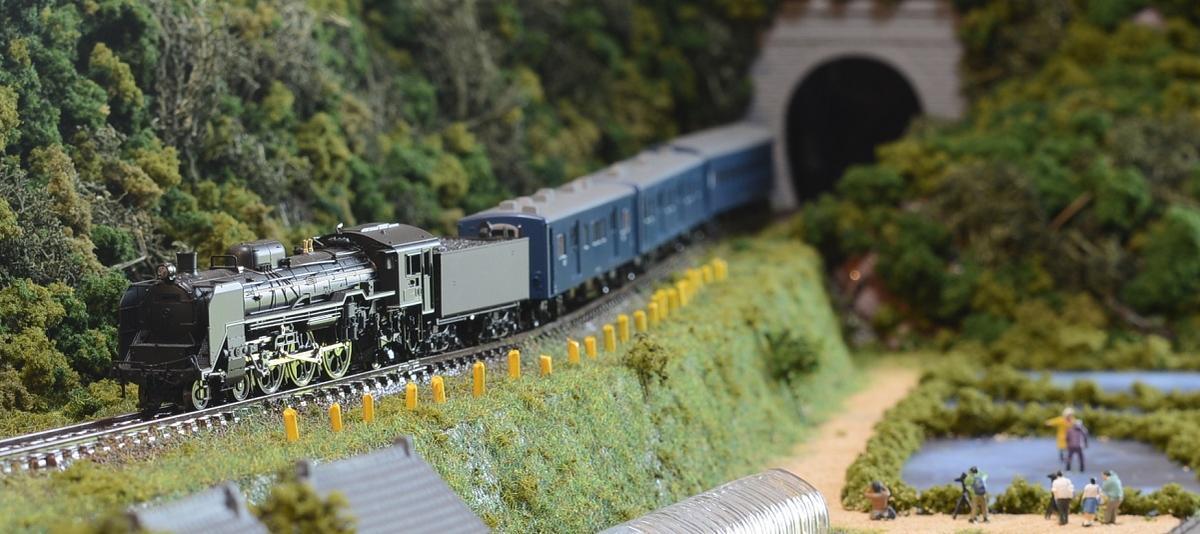 「送料込」鉄道模型ジオラマ展示台Nゲージ用 単線[90cm×30cm]田畑沿いのローカル線●注文製作●90x30−8