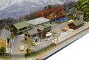 「送料込み」鉄道模型ジオラマレイアウトNゲージ用 単線[90cm×30cm]昭和の街並み●注文製作●90x30−6