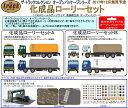 鉄道模型 1/150スケール(N)トミーテック(TOMYTEC)トラックコレクション化成品ローリーセットB「12月発売予定予約商品」