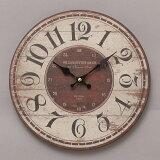 【時計/壁掛け】◆オールドルックウォールクロックウィリアム◆壁掛け時計