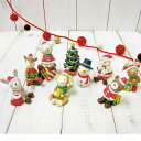 ノーティークリスマス ガーデンマスコット 全8種 (ガーデン マスコット ナチュラル雑貨 GARDEN Natural雑貨)