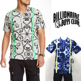 セール BILLIONAIRE BOYS CLUB ビリオネアボーイズクラブ KOBO 総柄 Tシャツ