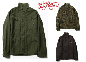CUT RATE カットレイト M-65 TYPE MILITARY JACKET ミリタリージャケット