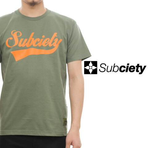 SUBCIETY サブサエティー GLORIOUS S/S Tシャツ