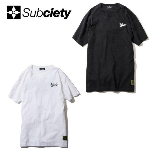 SUBCIETY サブサエティー STANDARD S/S Tシャツ