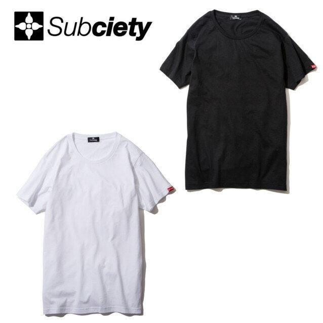SUBCIETY サブサエティー PLAIN TEE S/S Tシャツ