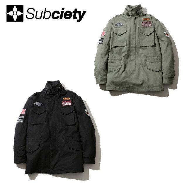 SUBCIETY サブサエティー M-65 FIELD JACKET ジャケット
