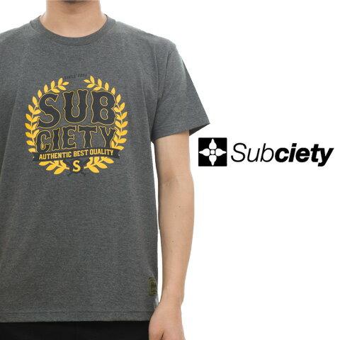 SUBCIETY サブサエティー SLUGGER S/S Tシャツ
