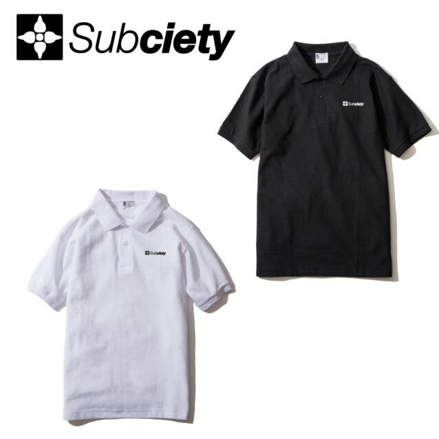 SUBCIETY サブサエティー DRY POLO S/S THE BASE ポロシャツ