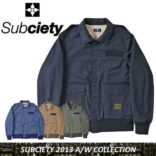 SUBCIETY サブサエティー FLIGHT JKT ジャケット