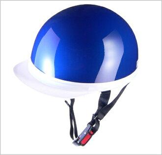 十字交叉 CR 740 半頭盔金屬藍色 /Lea 半-帽子-地獄
