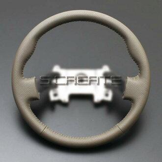 에브리/에브리와곤 DA64/DA64W [2005/8~]노멀 타입 올 레더 스테어링(베이지) / steering 핸들 휠