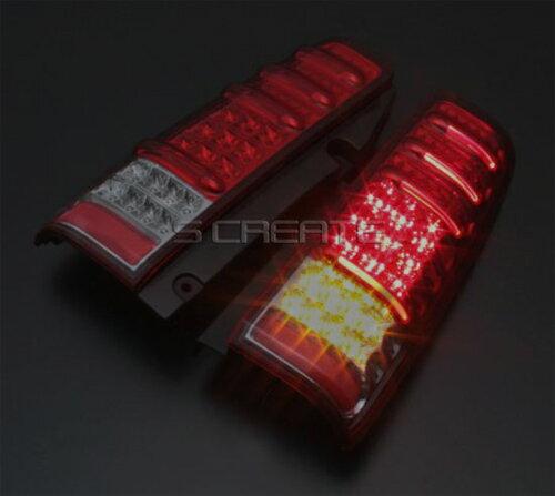 【送料無料!】ウインカーLED【MBRO】ジムニー(JB23) LEDサンダーテール/レッドスモーク