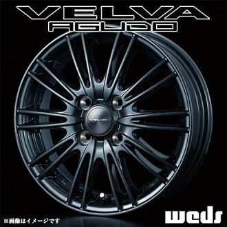 Velva regard aluminum wheel (single) 13x5.0 +36 100 4 holes (gun) / 13-inch VELVA AGUDO