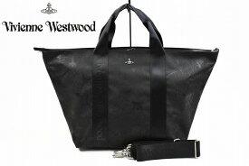 ヴィヴィアン ウエストウッド トートバッグ バッグ 大きめ レディース ブランド Vivienne Westwood ファーレルニッサ 2way 黒 ブラック ファスナー 付き ショルダーベルト A4 女性 婦人 42497611 【あす楽】