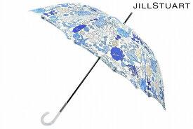 ジル スチュアート 雨傘 長傘 傘 レディース ブランド JILLSTUART マリンプリント ホワイト × ブルー 系 60cm 女性 婦人 【あす楽】