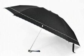 ラルフローレン 折りたたみ 日傘 レディース Ralph Lauren フリル ウェーブ 刺繍 50cm 黒 ブラック 系 | 女性 婦人 ブランド UV 晴雨兼用 母の日 遮光 ギフト 【あす楽】