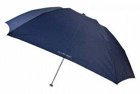 ジル スチュアート 雨傘 折りたたみ 傘 軽量 レディース ブランド JILL STUART ロゴ プリント 紺 ネイビー 55cm 女性 婦人 【あす楽】