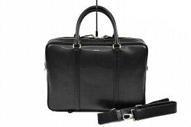 ポールスミス ビジネスバッグ バッグ メンズ ブランド Paul Smith シティエンボスレザー 黒 ブラック 男性 紳士 本革 PSN223 【あす楽】